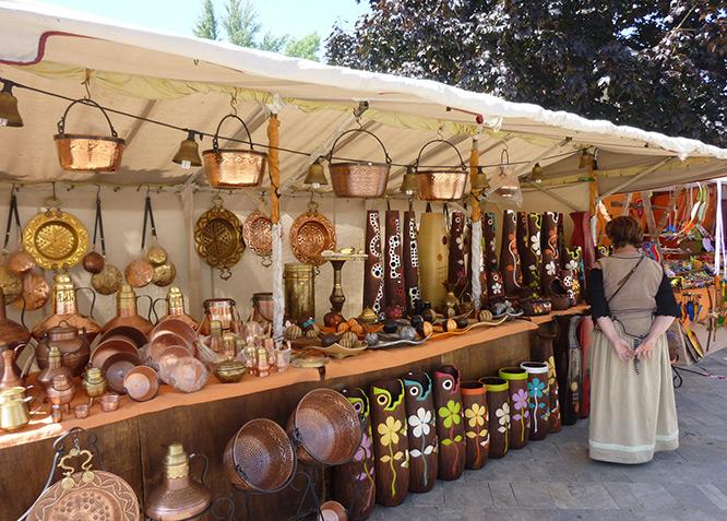 Mercado Medieval en Aguilar de Campoo