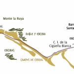 Ruta Subida al Monte La Ruya desde Sta. María