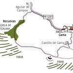 Senda a la Balconada del Castillo de Gama por recuevas