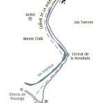 Sendero a lo alto del Cañón de la Horadada