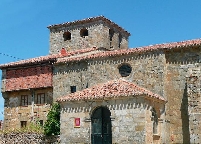 Iglesia de San Andrés - CABRIA - Fotografía cedida por: Canduela. Slide realizado por www.disenafacyl.es