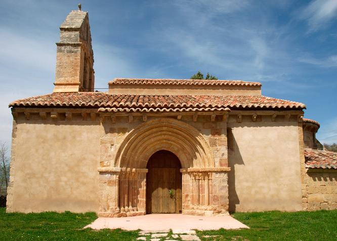 Iglesia de San Andrés - GAMA - Fotografía cedida por: Jesús A. Sanz. Slide realizado por www.disenafacyl.es