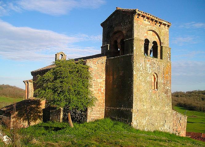 Iglesia de Santa Marina - VILLANUEVA DE LA TORRE - Fotografía cedida por: Jesús A. Sanz. Slide realizado por www.disenafacyl.es