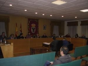 Imagen de la última sesión plenaria que tuvo lugar el lunes por la noche en Aguilar de Campoo.