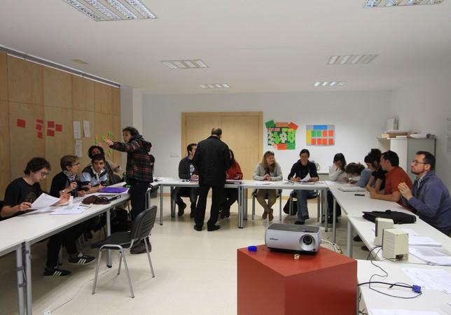 Los alumnos del curso. FSMLR