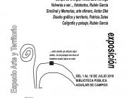 CARTEL EXPO-RECONOCER LA TIERRA