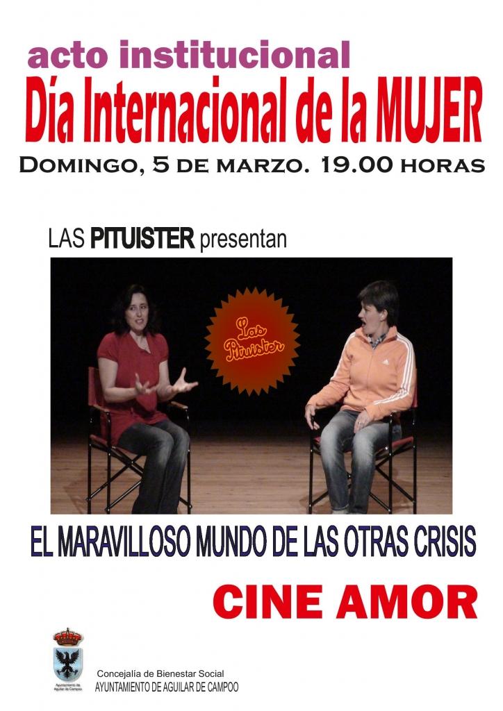 Cartel acto institucional 5 de marzo