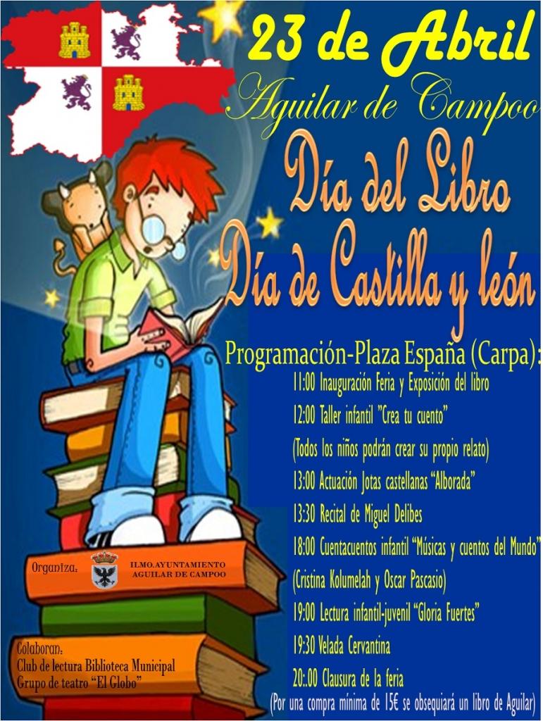 cartel dia del libro