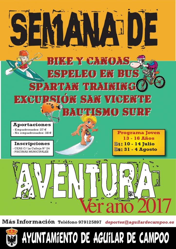 Cartel Semana de Aventura 2017-001