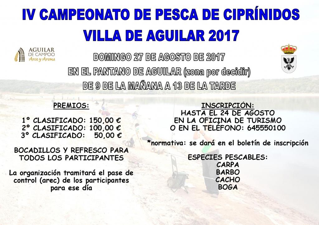 CARTEL CAMPEONATO PESCA 2017